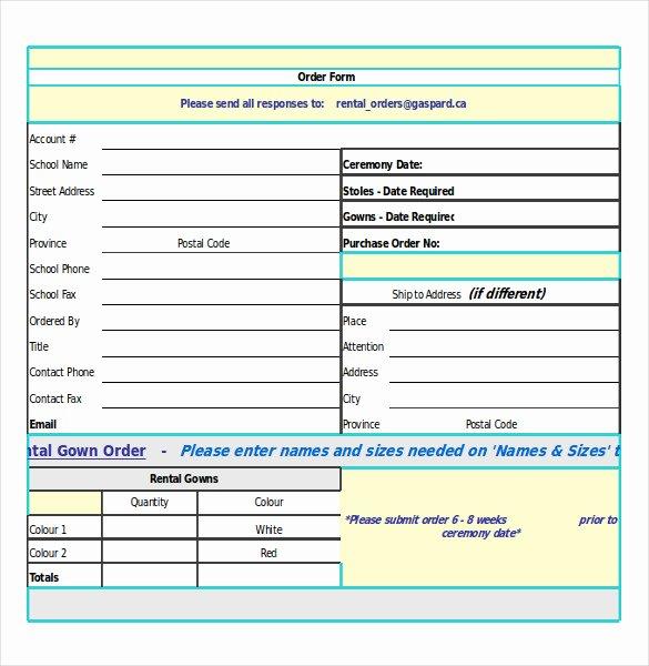 Simple order form Template Unique 30 order Confirmation Templates Pdf Doc