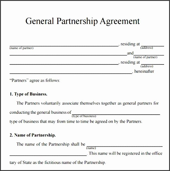 Simple Partnership Agreement Template Free Elegant 10 Business Partnership Agreement Template Free Download