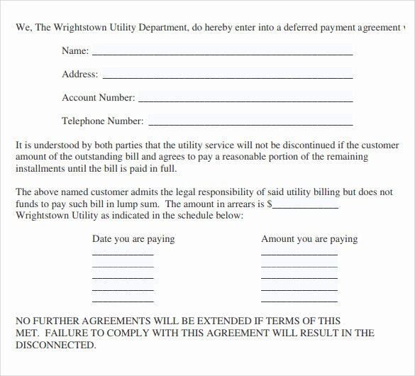 Simple Payment Plan Agreement Template Lovely Sample Payment Agreement 23 Documents In Pdf Google