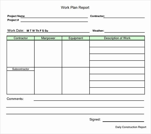Simple Project Plan Template Word Elegant 23 Sample Work Plan Templates In Google Docs