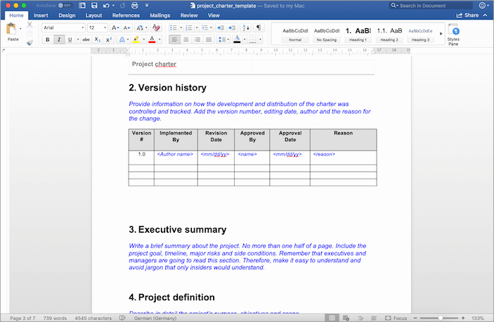 Simple Project Scope Template Inspirational Using the Project Charter Template Tactical Project Manager