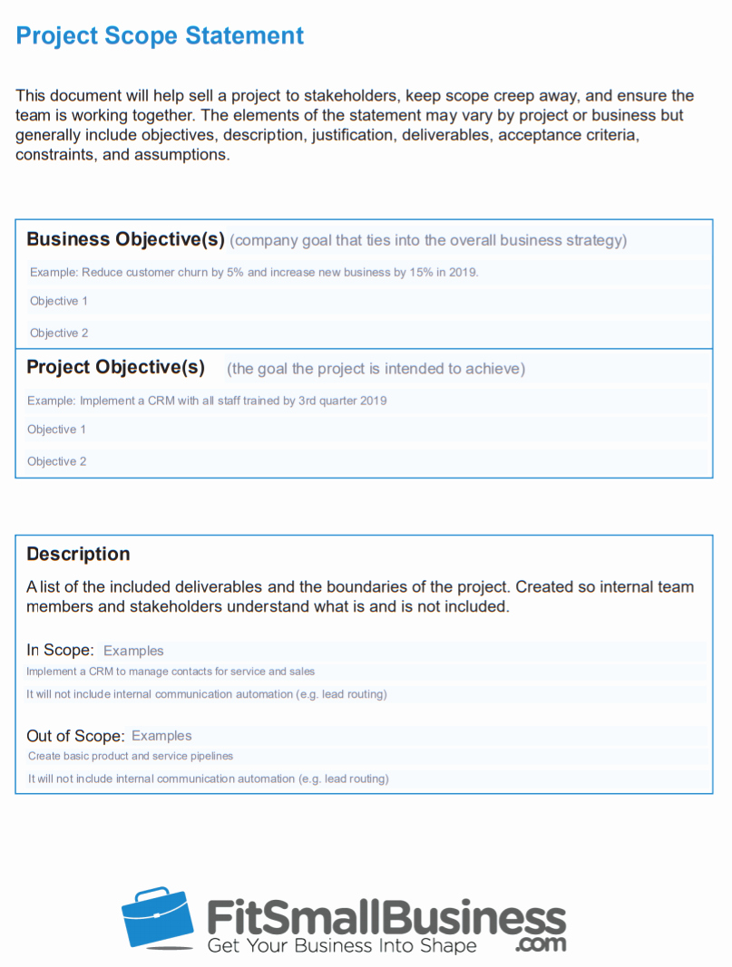 Simple Project Scope Template Lovely How to Create A Project Timeline In 5 Steps Free Scope
