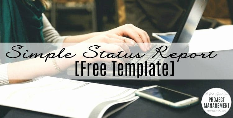 Simple Project Status Report Template Awesome Basic Project Report Template [powerpoint]