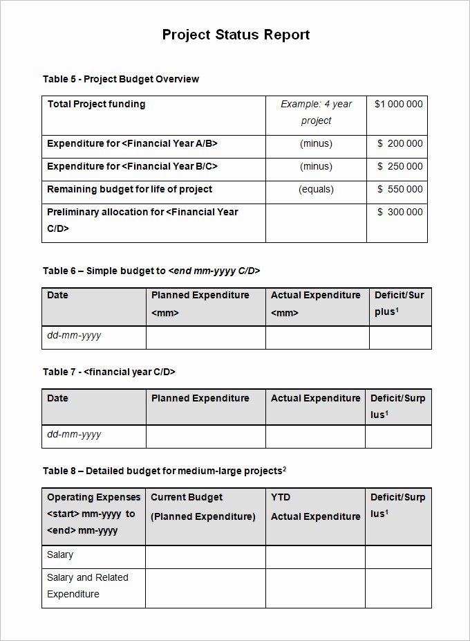 Simple Project Status Report Template Awesome Sample Project Status Report Template 14 Free Word Pdf