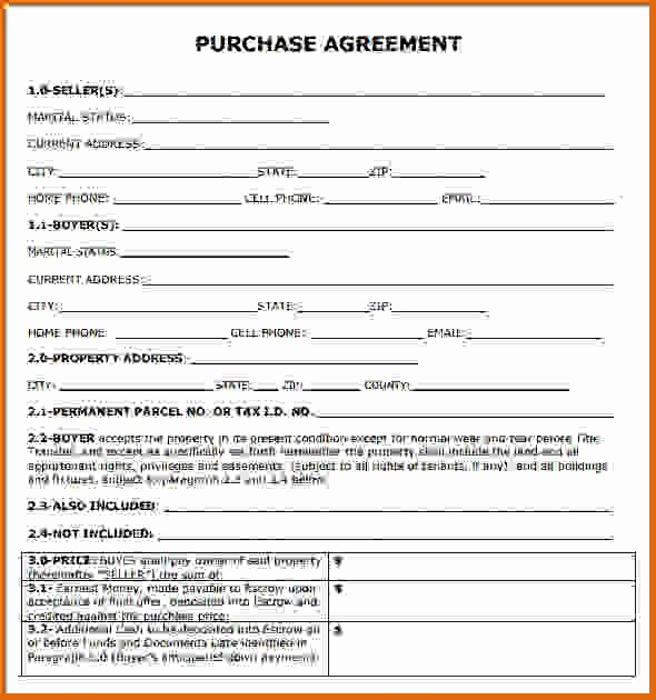 Simple Purchase Agreement Template Beautiful Simple Loan Agreement Template Free