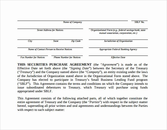 Simple Purchase Agreement Template New Business Purchase Agreement 7 Documents Download In Pdf