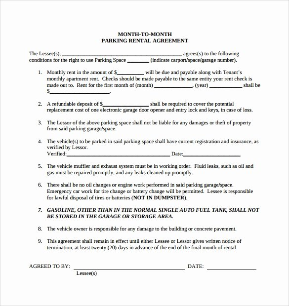 Simple Rental Agreement Template New Simple Rental Agreement 11 Download Free Documents In