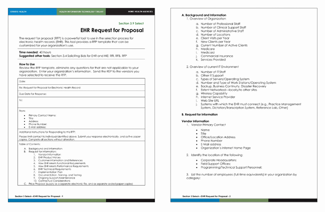 Simple Request for Proposal Template Lovely Request for Proposal Templates 20 Samples and formats Of Rpf