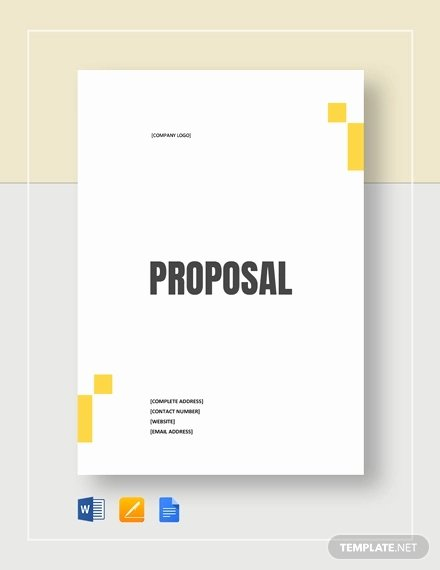 Simple Rfp Template Word New 53 Simple Proposal Templates Word Pdf Google Docs
