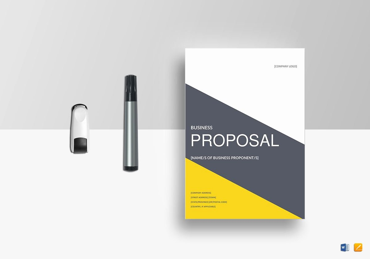 Simple Rfp Template Word New Business Proposal Template In Word Google Docs Apple Pages