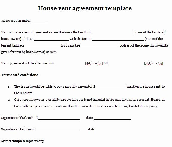 Simple Room Rental Agreement Template Beautiful Simple Room Rental Agreement