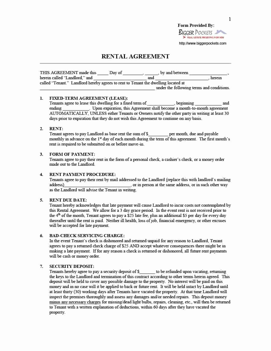 Simple Room Rental Agreement Template New Hotel Purchase Agreement Elegant 39 Simple Room Rental