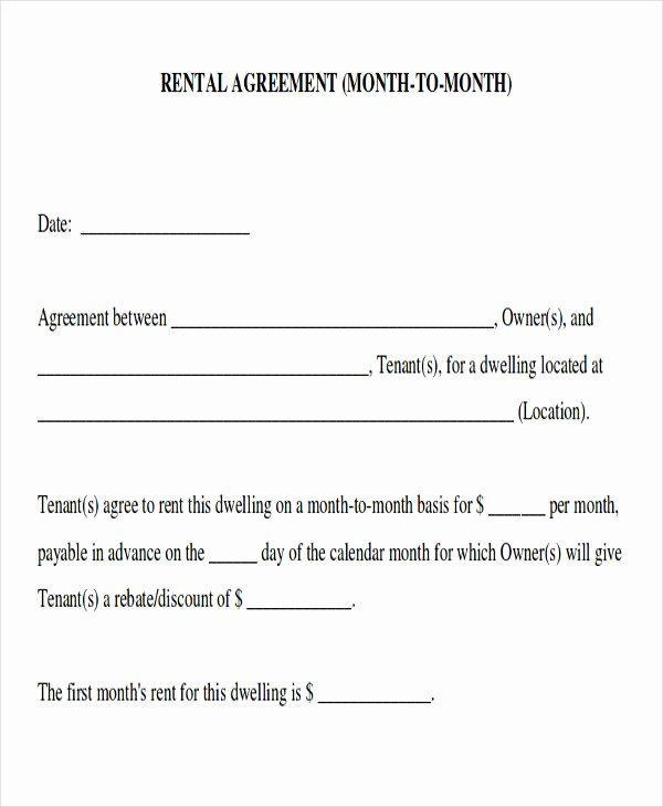Simple Room Rental Agreement Template Unique 8 Room Rental Agreement form Sample Examples In Word Pdf