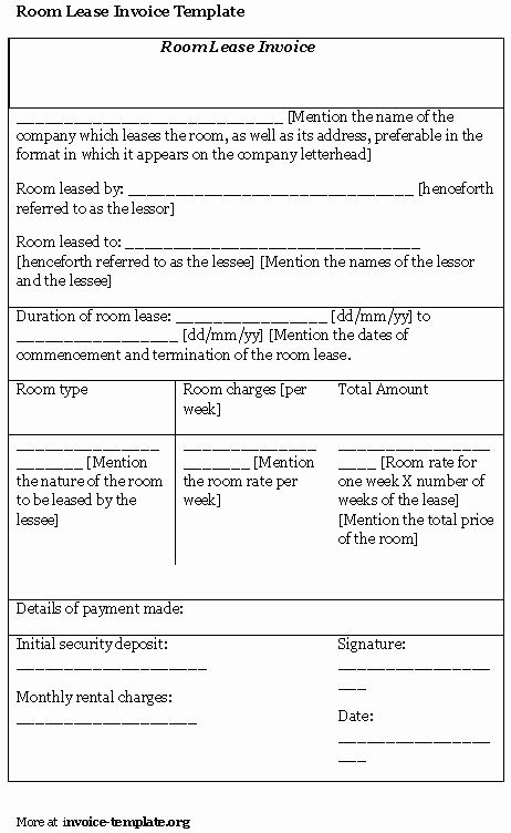 Simple Room Rental Agreement Template Unique Best S Of Simple Apartment Rental Bill Template
