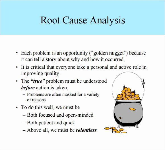 Simple Root Cause Analysis Template Luxury Free 16 Sample Useful Root Cause Analysis Templates In