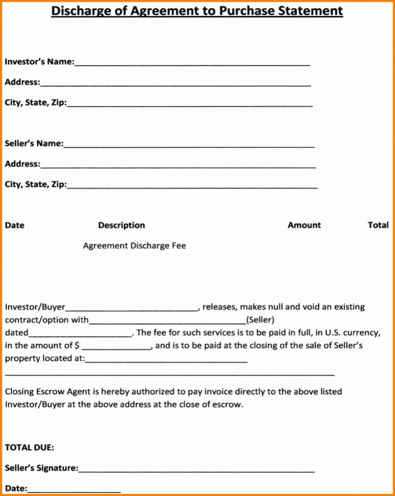 Simple Sales Agreement Template Lovely Sale Agreement Template