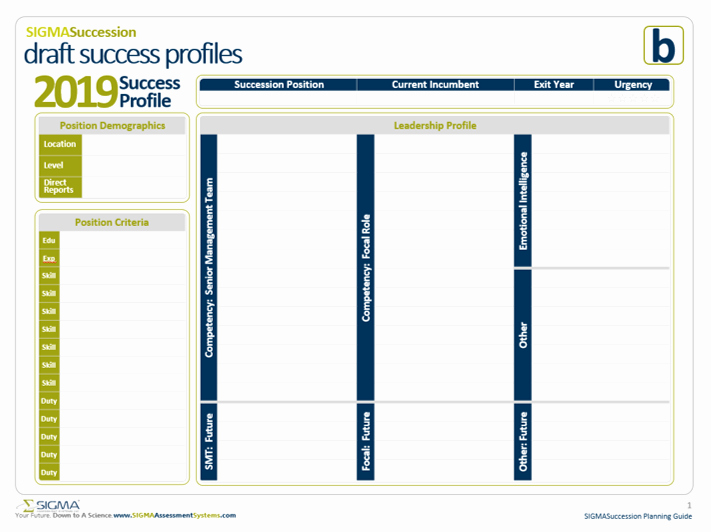 Simple Succession Plan Template Luxury Succession Planning Template