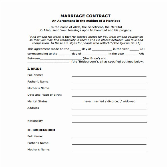 Simple Wedding Photography Contract Template Beautiful Wedding Contract Template – 13 Word Pdf Google Docs