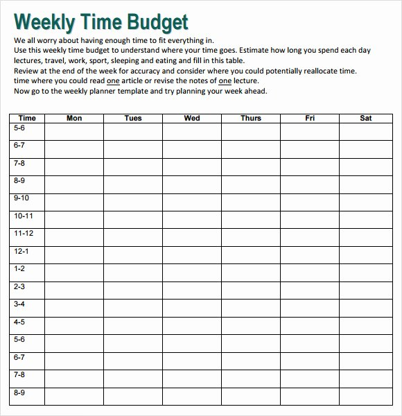 Simple Weekly Budget Template Luxury Free 10 Weekly Bud In Google Docs Google Sheets Ms