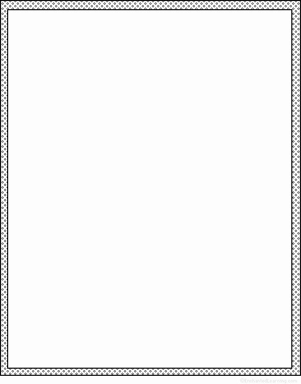 Simple White Paper Template Beautiful Blank Shape Poem Printable Worksheet Enchantedlearning