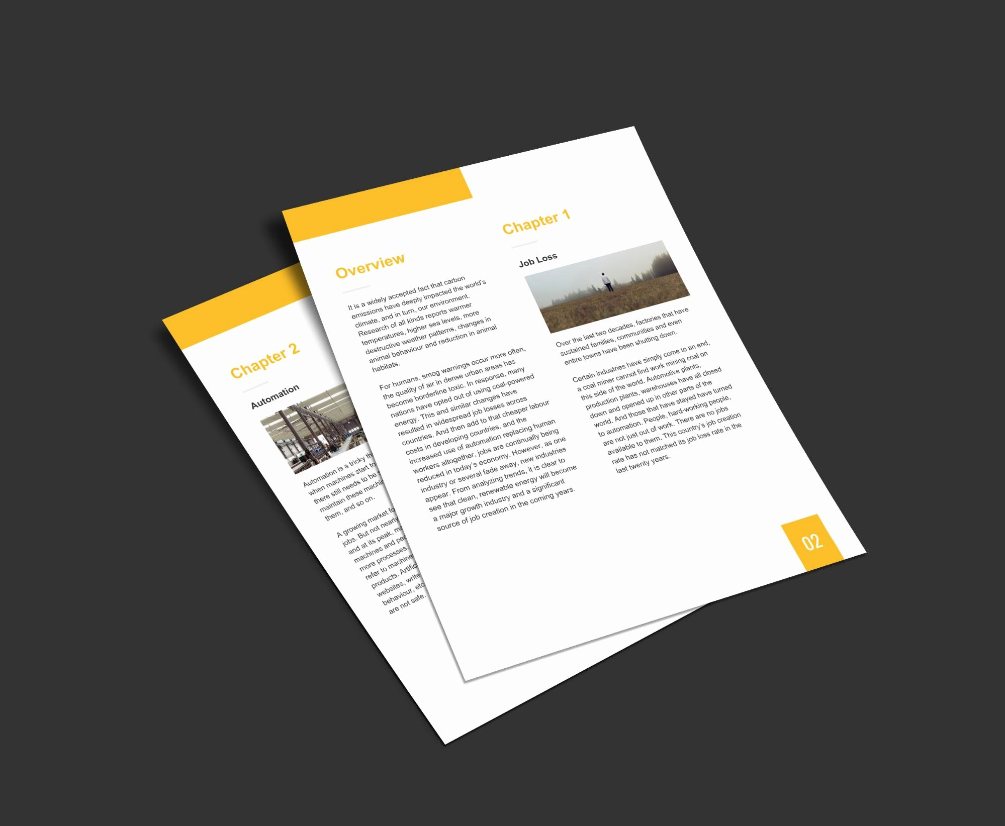 Simple White Paper Template Best Of 20 Page Turning White Paper Examples [design Guide