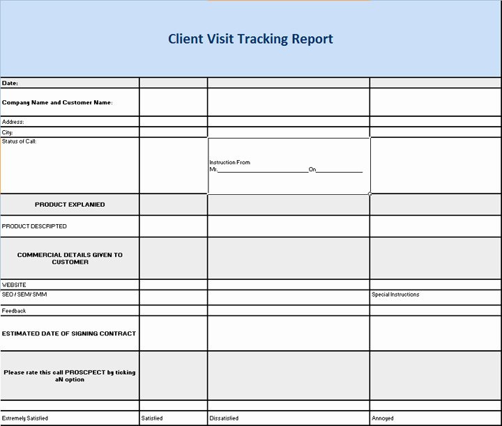 Site Visit Report Templates Inspirational 27 Of Survey Site Visit Report Template