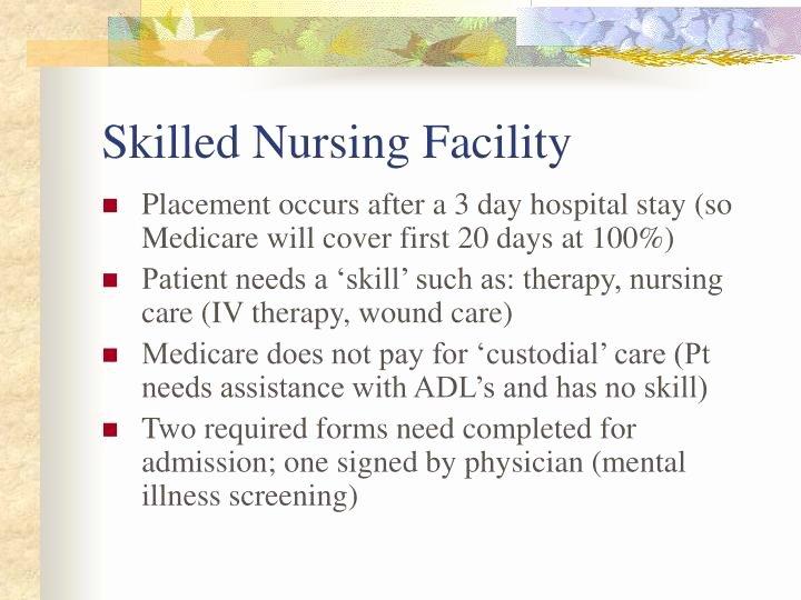 Skilled Nursing Documentation Templates Elegant Ppt Discharge Planning Powerpoint Presentation Id