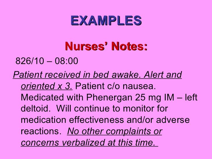 Skilled Nursing Documentation Templates Lovely Nurses Notes Template Free Download Printables Race