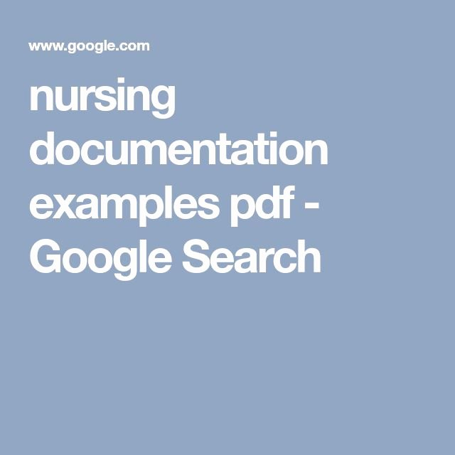 Skilled Nursing Documentation Templates Unique Best 25 Nursing Documentation Examples Ideas On Pinterest