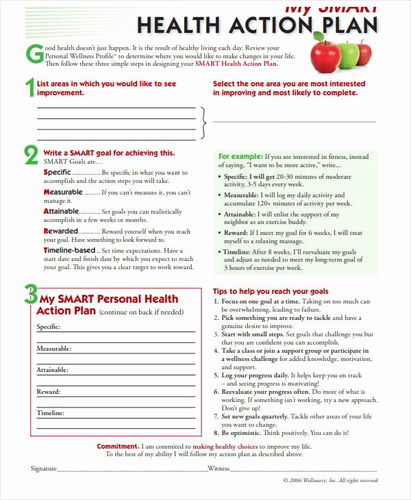 Smart Action Plans Template Lovely 11 Smart Action Plan Templates Pdf Word