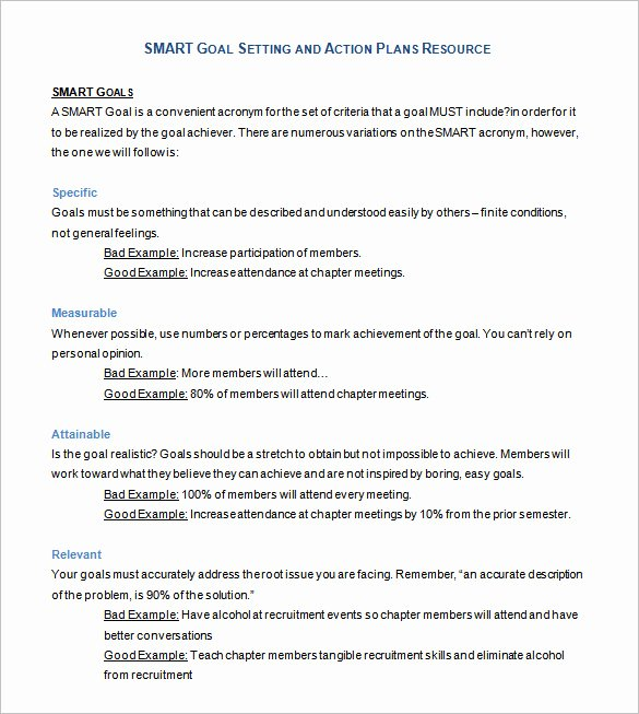 Smart Action Plans Template Lovely 90 Action Plan Templates Word Excel Pdf Apple Pages