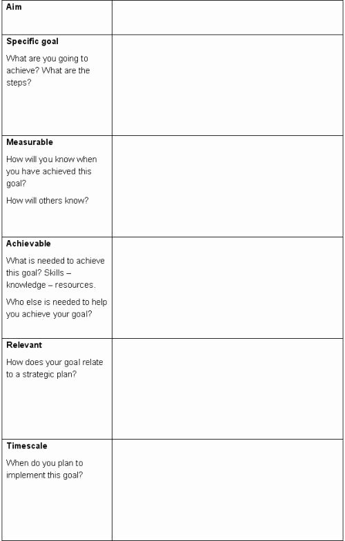 Smart Action Plans Template Unique Smart Action Plan Template