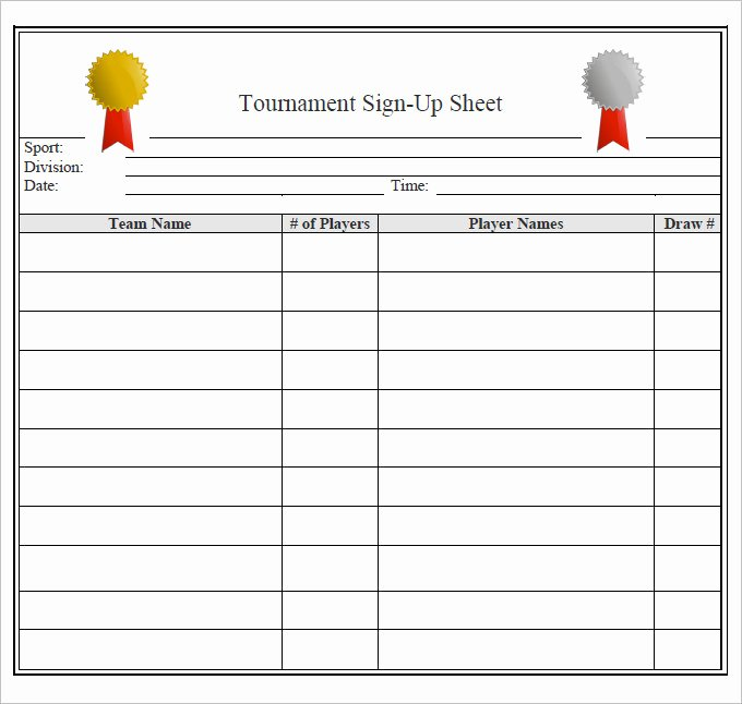 Snack Sign Up Sheet Template Beautiful 25 Of Basketball Snack Template Free