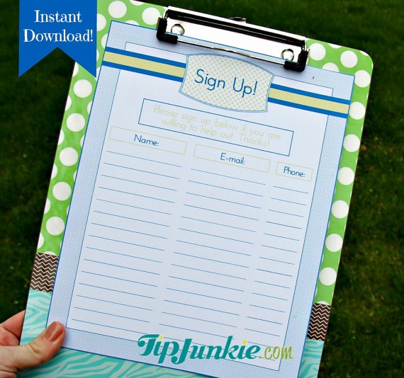 Snack Sign Up Sheet Template Fresh Email Sign Up Sheet Template Google Search