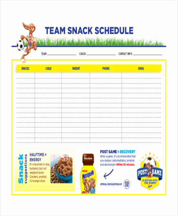 Snack Sign Up Sheet Template Fresh Index Of Cdn 3 2013 159