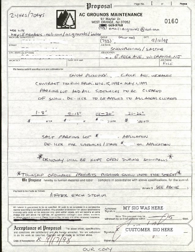 Snow Removal Contracts Template Best Of Snow Removal Contract Templates – Emmamcintyrephotography
