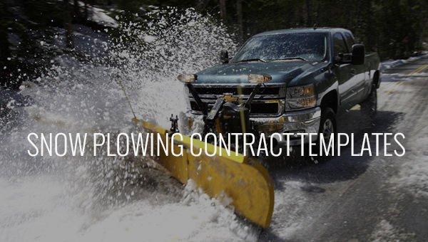 Snow Removal Contracts Template Elegant 20 Snow Plowing Contract Templates Google Docs Pdf
