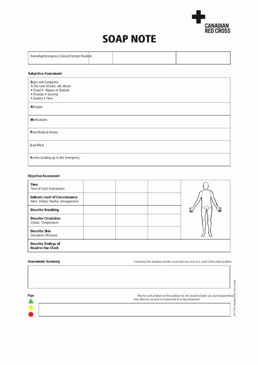 Soap Note Template Pdf Fresh 17 soap Note Templates Free to In Pdf