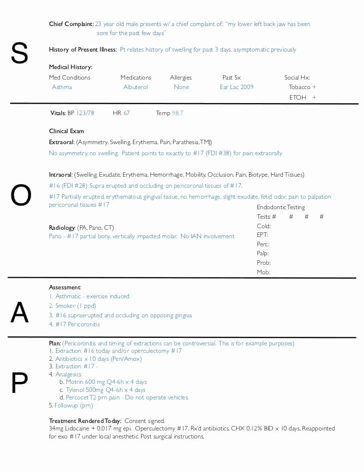 Soap Note Template Pdf Unique Free soap Notes Templates for Busy Healthcare Professionals