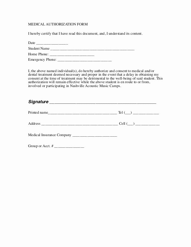 Social Media Release form Template Luxury Master Liability Waiver for All Camps