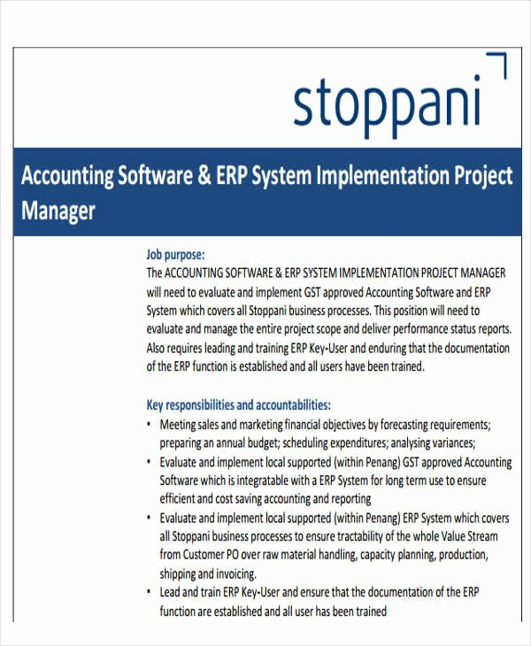Software Implementation Plan Template Inspirational 34 Implementation Plan Templates In Pdf