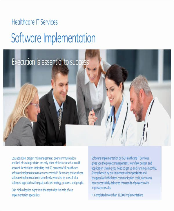 Software Implementation Plan Template Luxury 34 Implementation Plan Templates In Pdf