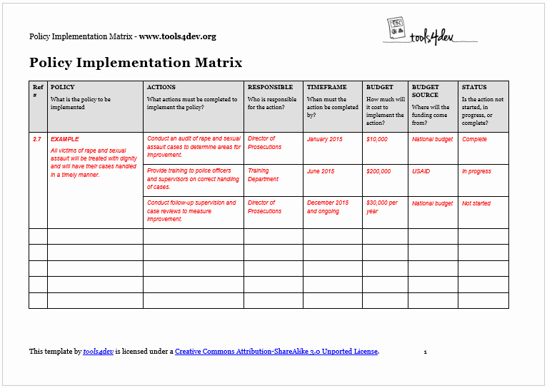 Software Implementation Plan Template Luxury Implementation Template Full Version Free software