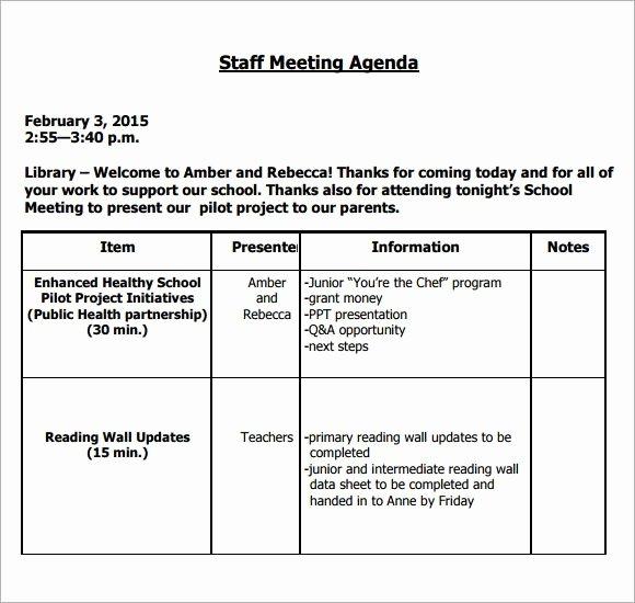 Staff Meetings Agenda Template Elegant Image Result for Teacher Staff Meeting Agenda Template