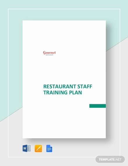 Staff Training Plan Template Unique 20 Sample Training Plan Templates In Google Docs