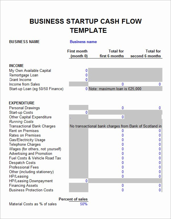 Startup Business Plan Template Fresh Sample Financial Plan 11 Documents In Word Excel