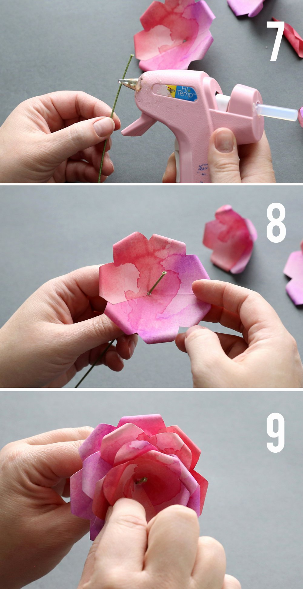 Step by Step Instruction Template Awesome Make Gorgeous Paper Roses with This Free Paper Rose