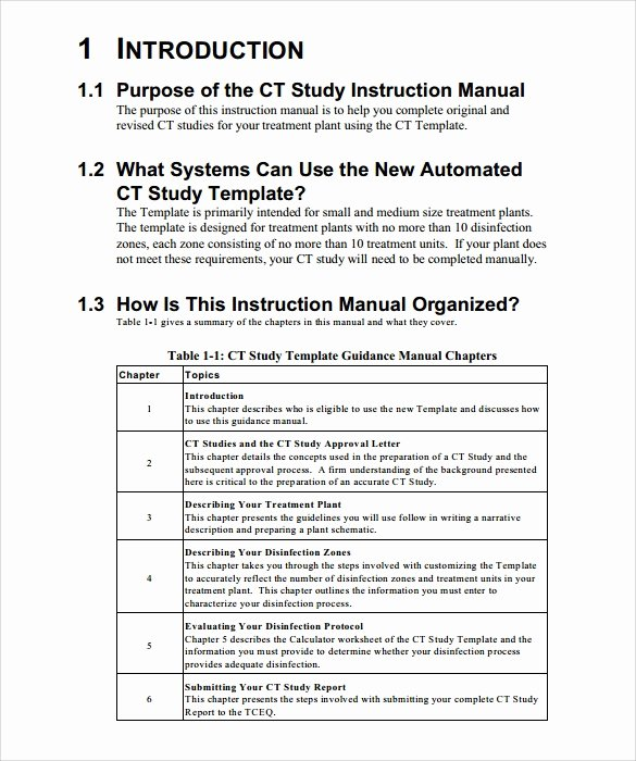 Step by Step Instruction Template Beautiful Sample Instruction Manual 9 Documents In Pdf Word