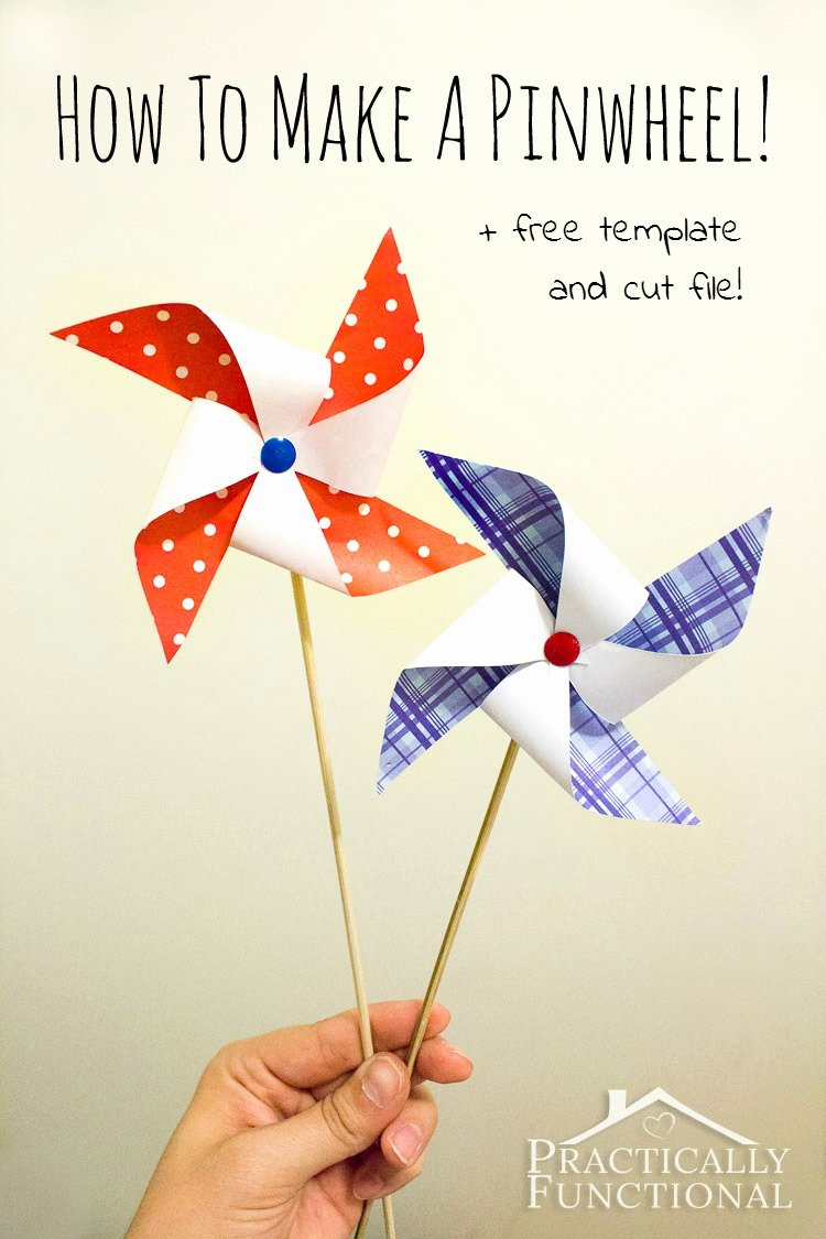 Step by Step Instruction Template New How to Make A Pinwheel Free Template