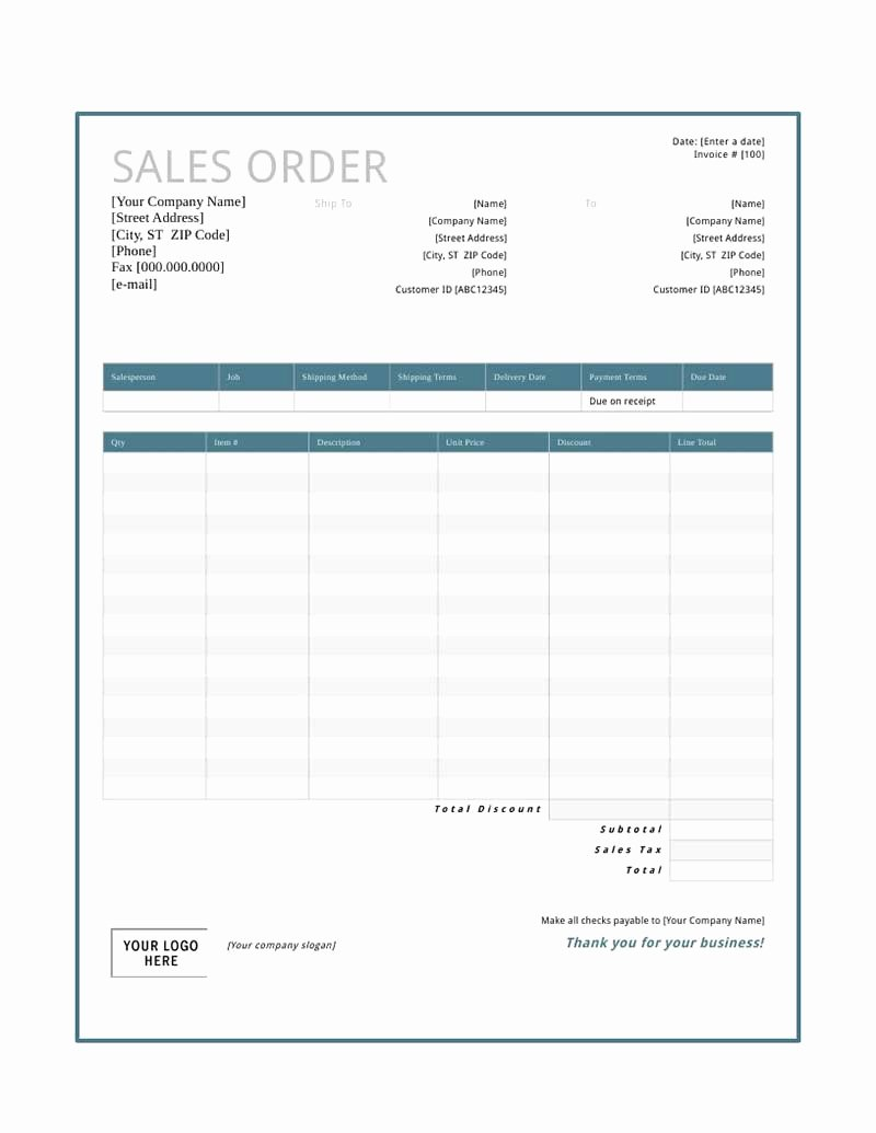 Stop Work order Template Fresh Sales order Template Free Download Create Edit Fill